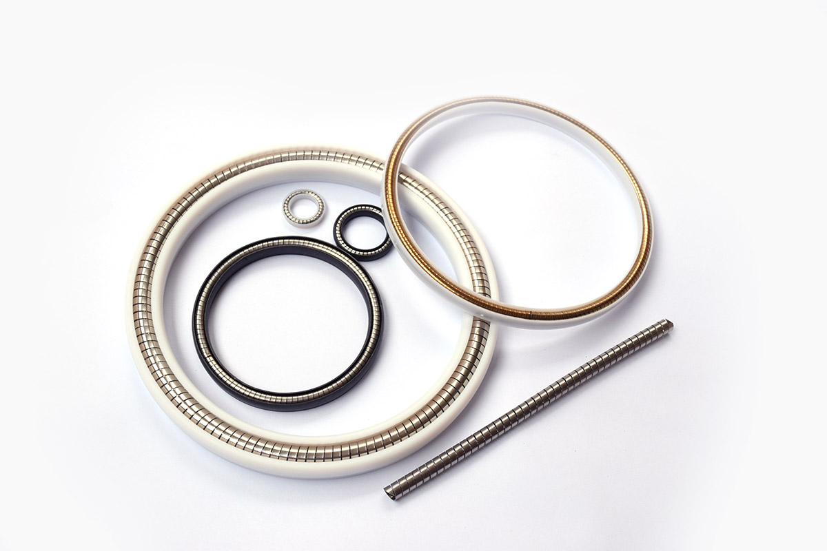 Helical Wound Spring Energized Seals